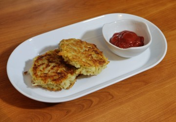 Patates hash brown ultra simples