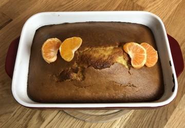 Gâteau au yogourt et à la clémentine