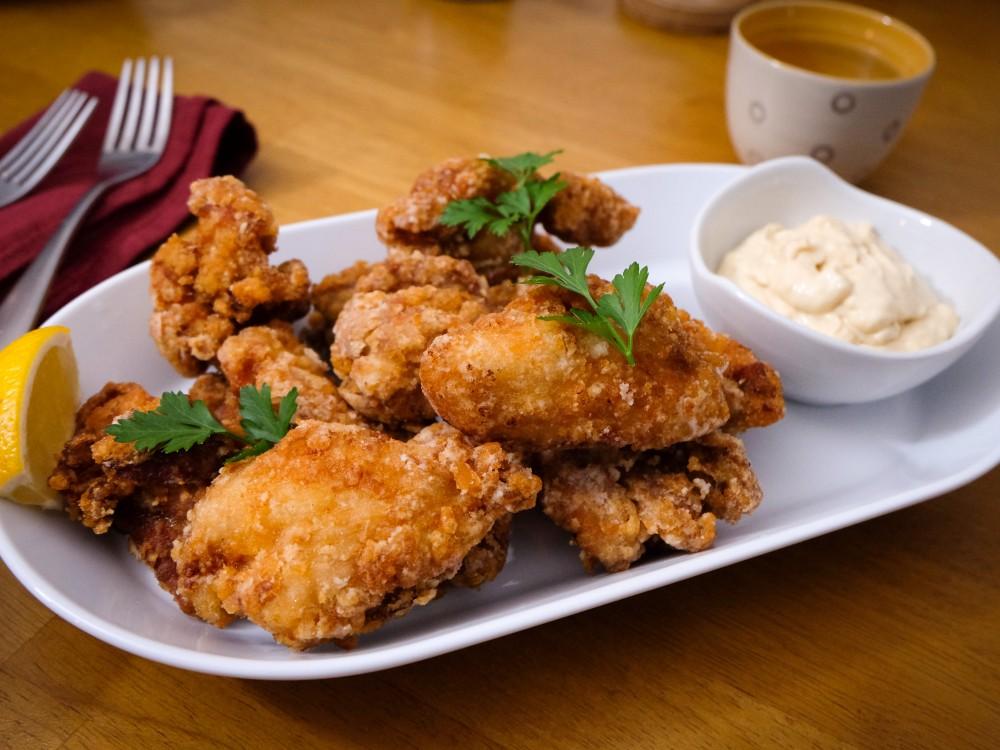 Poulet frit à la japonaise (karaage)