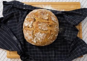 Miche de pain aux épices du temps des fêtes